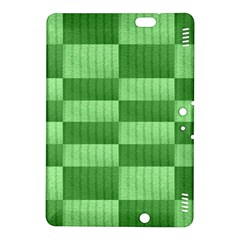 Wool Ribbed Texture Green Shades Kindle Fire Hdx 8 9  Hardshell Case