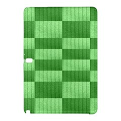 Wool Ribbed Texture Green Shades Samsung Galaxy Tab Pro 10 1 Hardshell Case