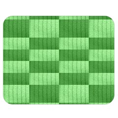 Wool Ribbed Texture Green Shades Double Sided Flano Blanket (medium)