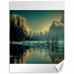 Yosemite Park Landscape Sunrise Canvas 18  X 24