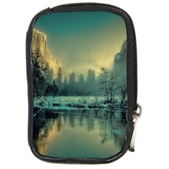 Yosemite Park Landscape Sunrise Compact Camera Cases