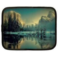 Yosemite Park Landscape Sunrise Netbook Case (xl)