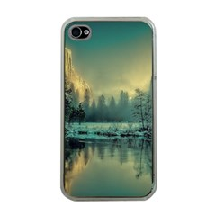 Yosemite Park Landscape Sunrise Apple Iphone 4 Case (clear)