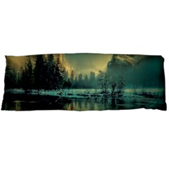 Yosemite Park Landscape Sunrise Body Pillow Case (dakimakura)