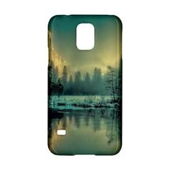 Yosemite Park Landscape Sunrise Samsung Galaxy S5 Hardshell Case