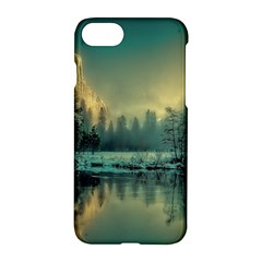 Yosemite Park Landscape Sunrise Apple Iphone 7 Hardshell Case