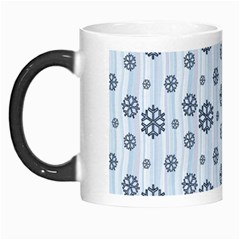 Snowflakes Winter Christmas Card Morph Mugs