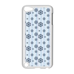 Snowflakes Winter Christmas Card Apple Ipod Touch 5 Case (white)