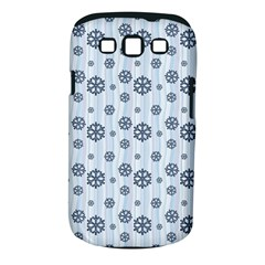 Snowflakes Winter Christmas Card Samsung Galaxy S Iii Classic Hardshell Case (pc+silicone)