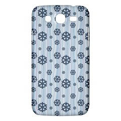 Snowflakes Winter Christmas Card Samsung Galaxy Mega 5 8 I9152 Hardshell Case