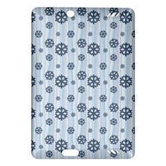 Snowflakes Winter Christmas Card Amazon Kindle Fire Hd (2013) Hardshell Case