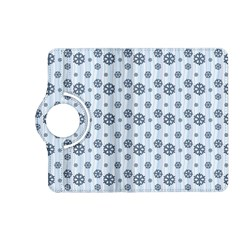 Snowflakes Winter Christmas Card Kindle Fire Hd (2013) Flip 360 Case