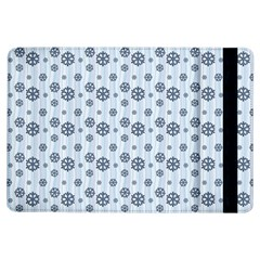 Snowflakes Winter Christmas Card Ipad Air Flip