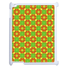 Pattern Texture Christmas Colors Apple Ipad 2 Case (white)