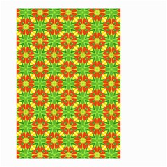 Pattern Texture Christmas Colors Small Garden Flag (two Sides)