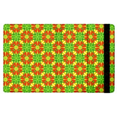 Pattern Texture Christmas Colors Apple Ipad 2 Flip Case