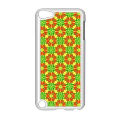 Pattern Texture Christmas Colors Apple Ipod Touch 5 Case (white)
