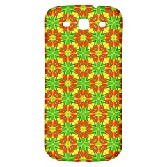 Pattern Texture Christmas Colors Samsung Galaxy S3 S Iii Classic Hardshell Back Case