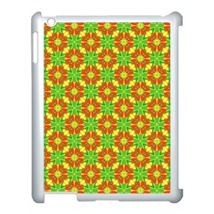 Pattern Texture Christmas Colors Apple Ipad 3/4 Case (white)