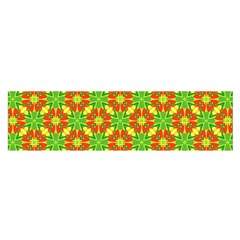 Pattern Texture Christmas Colors Satin Scarf (oblong)