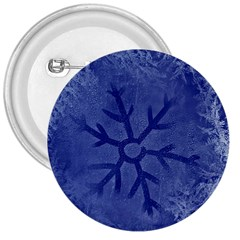 Winter Hardest Frost Cold 3  Buttons