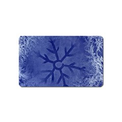 Winter Hardest Frost Cold Magnet (name Card)