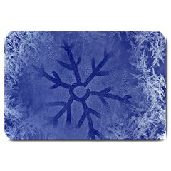 Winter Hardest Frost Cold Large Doormat