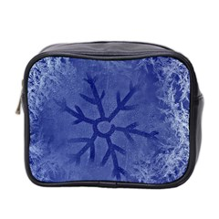Winter Hardest Frost Cold Mini Toiletries Bag 2 Side