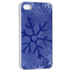Winter Hardest Frost Cold Apple Iphone 4/4s Seamless Case (white)