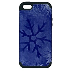 Winter Hardest Frost Cold Apple Iphone 5 Hardshell Case (pc+silicone)