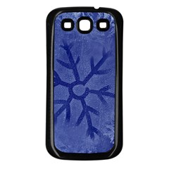 Winter Hardest Frost Cold Samsung Galaxy S3 Back Case (black)