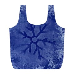 Winter Hardest Frost Cold Full Print Recycle Bags (l)