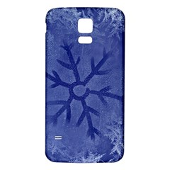 Winter Hardest Frost Cold Samsung Galaxy S5 Back Case (white)