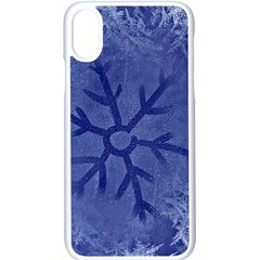 Winter Hardest Frost Cold Apple Iphone X Seamless Case (white)