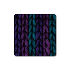 Background Weave Plait Blue Purple Square Magnet