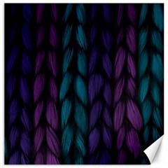 Background Weave Plait Blue Purple Canvas 12  X 12