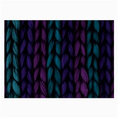 Background Weave Plait Blue Purple Large Glasses Cloth