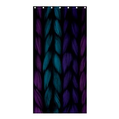 Background Weave Plait Blue Purple Shower Curtain 36  X 72  (stall)