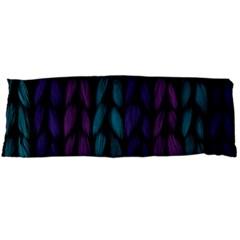 Background Weave Plait Blue Purple Body Pillow Case Dakimakura (two Sides)