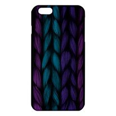 Background Weave Plait Blue Purple Iphone 6 Plus/6s Plus Tpu Case