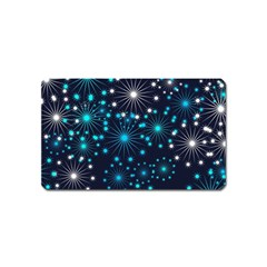 Wallpaper Background Abstract Magnet (name Card)