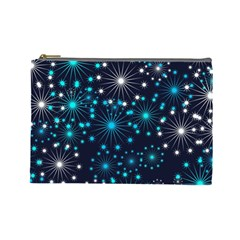 Wallpaper Background Abstract Cosmetic Bag (large)