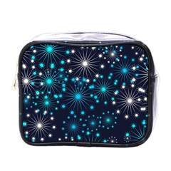 Wallpaper Background Abstract Mini Toiletries Bags