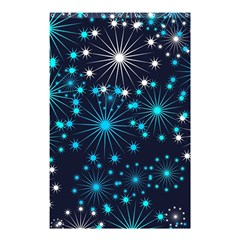 Wallpaper Background Abstract Shower Curtain 48  X 72  (small)