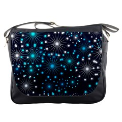 Wallpaper Background Abstract Messenger Bags