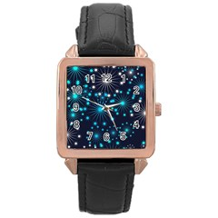 Wallpaper Background Abstract Rose Gold Leather Watch