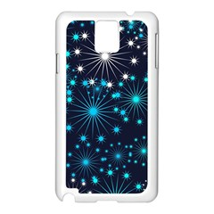Wallpaper Background Abstract Samsung Galaxy Note 3 N9005 Case (white)