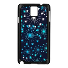 Wallpaper Background Abstract Samsung Galaxy Note 3 N9005 Case (black)