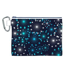 Wallpaper Background Abstract Canvas Cosmetic Bag (l)