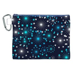 Wallpaper Background Abstract Canvas Cosmetic Bag (xxl)
